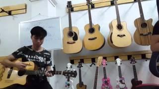 [Guitar] Cover : NHÌN LẠI_Tuấn Đạt ft Thạo Acoustic