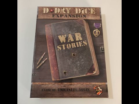 D-Day Dice (Second Edition) War Stories - Unboxing