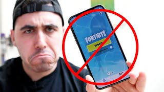 Apple Bans Fortnite from the App Store, Epic Sues