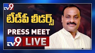 TDP leaders Press Meet LIVE @ Vijayawada - TV9
