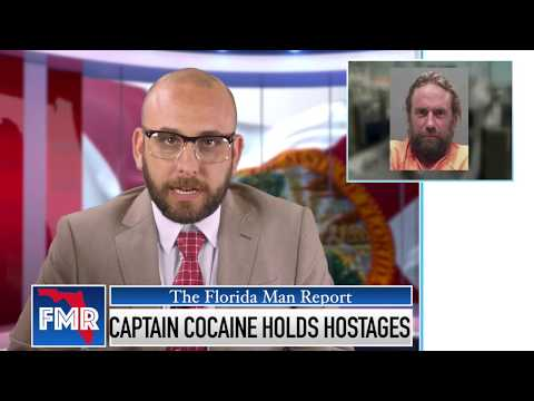 Florida Man Report: Captain Cocaine