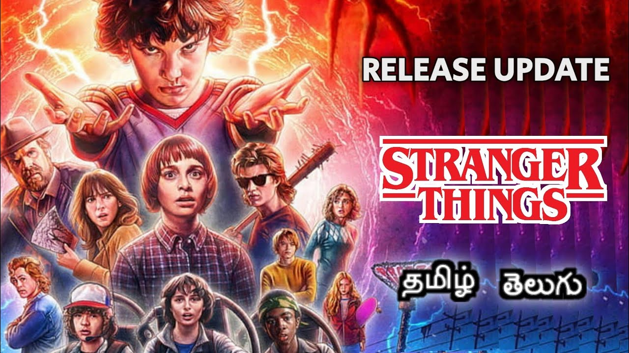 Download Stranger Things tamil dubbed Series | Release Update | Netflix Orginal Series