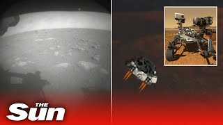 Nasa's Perseverance rover lands on Mars after '7 mins of terror'