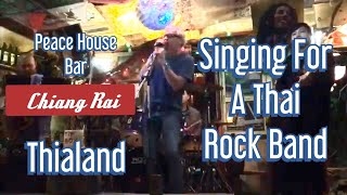 Singing Lead Vocals for a Thai Rock Band