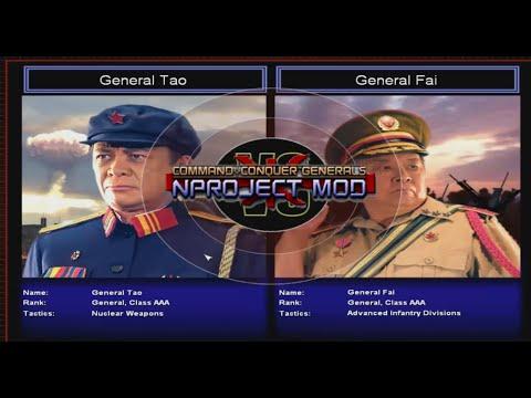 C&C Generals Zero Hour NProject - Challenge Tao vs Fai