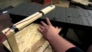 Homemade Hot Wire Cutter - AK47 - Gun Case Kaizen Foam