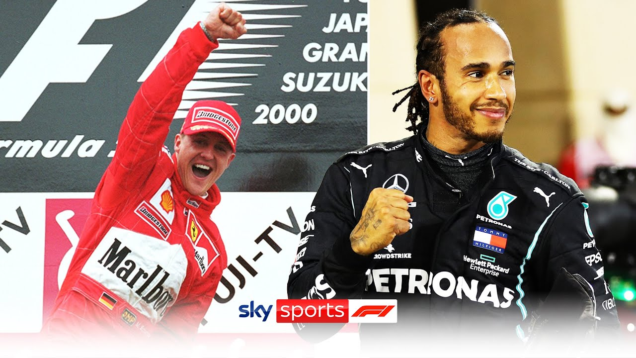 Who is the GREATEST F1 champion? | Comparing Schumacher & Hamilton's championship winning seasons!