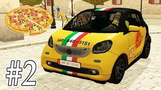 Pizza Delivery Driving Simulator #2 - Fun Pizza Delivery With Cars And Motorcycle Gameplay