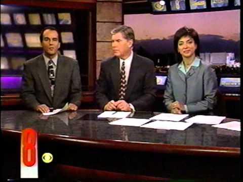 Oct. 22, 2001, Polly Gonzalez & Gary Waddell, KLAS-TV Ch. 8 Eyewitness News