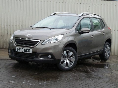 2016 16 peugeot 2008 1 6 bluehdi 75ps active 5dr in spirit grey delivery miles youtube. Black Bedroom Furniture Sets. Home Design Ideas