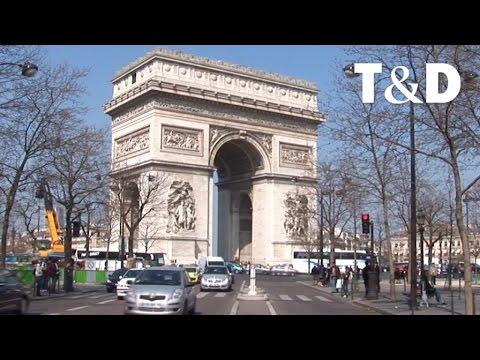 Paris: Die Avenue des Champs-Élysées