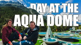 The Aquadome in Austria - is it as amazing as it looks? YES! Travel Highlights
