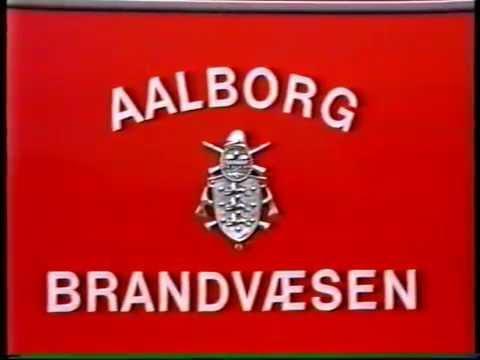 Aalborg Brandvæsen 1986 (Aalborg Fire Brigade in Denmark 1986)