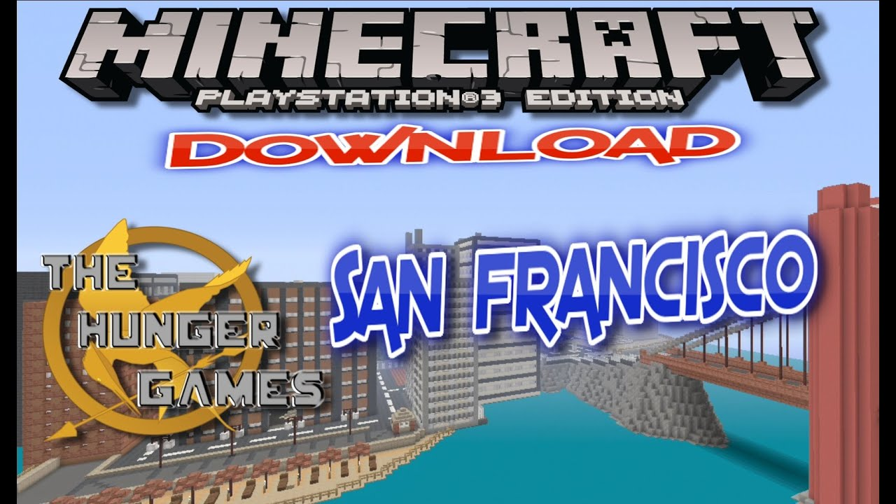 San Francisco Hunger Games DOWNLOAD Minecraft Ps3 Ps4 By