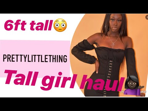 PRETTY LITTLE THING HAUL | FOR TALL/SKINNY GIRLS