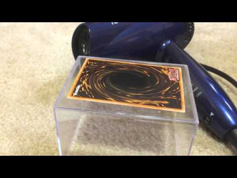 How to: Straighten Yugioh Cards