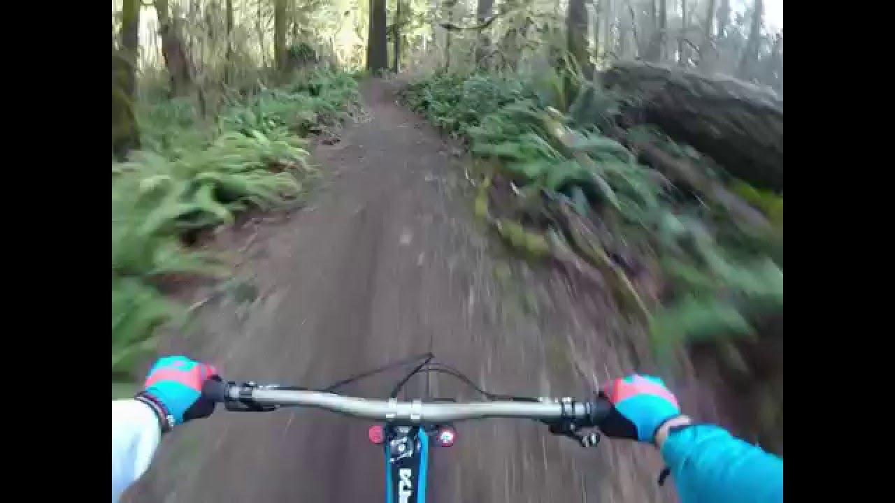 Banzai Downhill Trail Blackrock Mountain Bike Park Feb 2016