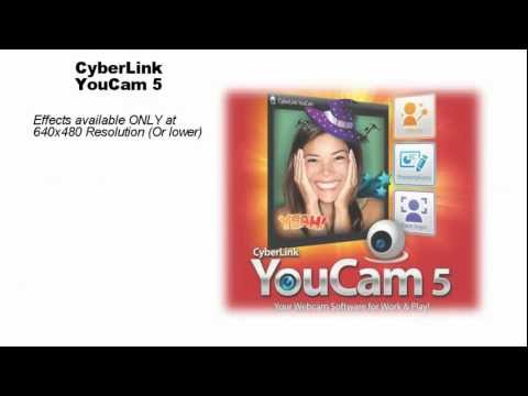 CyberLink YouCam 5 - Your Webcam Software for Work & Play! from YouTube · High Definition · Duration:  2 minutes 10 seconds  · 23,000+ views · uploaded on 7/18/2011 · uploaded by CyberLinkChannel
