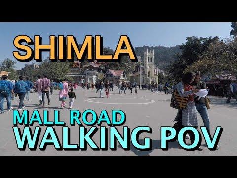 Shimla Mall Road | Walking POV