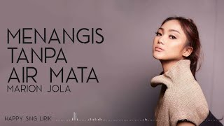 Download Marion Jola - Menangis Tanpa Air Mata (Lirik)
