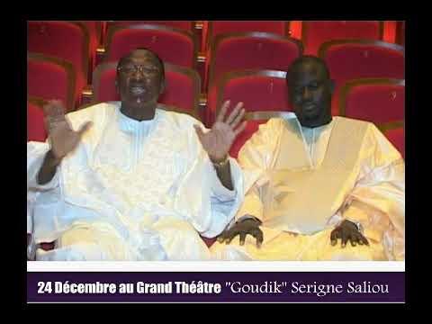 TEASER : MOUHAMED NIANG MOU SERIGNE SALIOU 24 DECEMBRE 2018  AU GRAND THEATRE