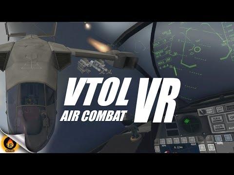 VTOL VR - Virtual HOTAS Air Combat in Virtual Reality