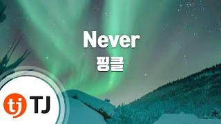 [TJ노래방] Never - 핑클(Fin.K.L) / TJ Karaoke