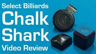Pool Chalk - Chalk Shark Holder Video Review by Select Billiards