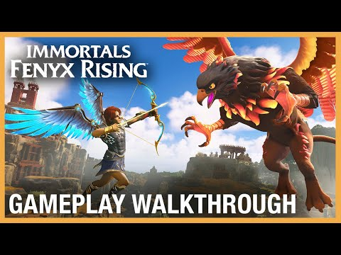 Immortals Fenyx Rising: Gameplay Walkthrough | Ubisoft Forward 2020 | Ubisoft [NA]