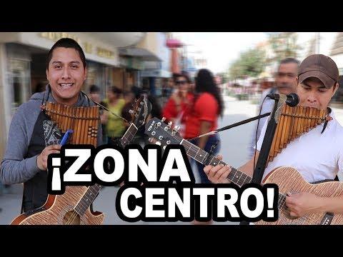 M�sico callejero alegra el d�a en CENTRO DE REYNOSA �Lo conoces