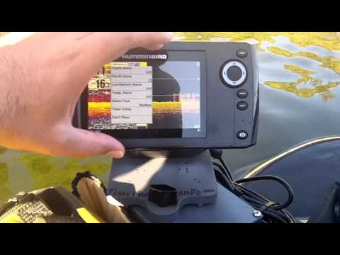 Humminbird Helix 5 review on the water from Fish Finder Mounts