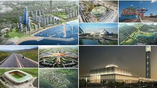 أضخم 10 مشاريع مستقبلية في الجزائر   منها عاصمة جديدة و 03 أكبر مسجد في العالم
