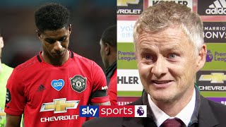 Ole Gunnar Solskjaer refuses to criticise players after they miss chance to move into Top Four