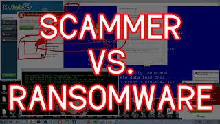 SCAMMER VS RANSOMWARE VIRUS (TECH SUPPORT SCAMMER)
