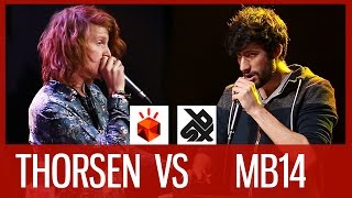 THORSEN vs MB14 | Grand Beatbox LOOPSTATION Battle 2016 | SEMI FINAL