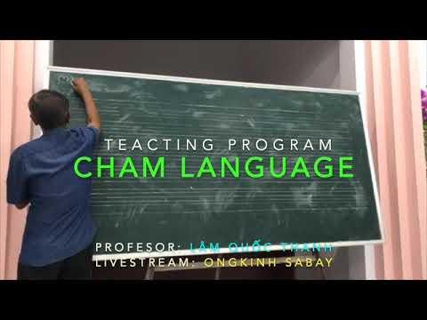 Dạy học tiếng Cham - Bài #06