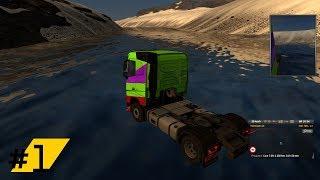 ETS2 Islandia Drift po wodzie Shoot z live #1