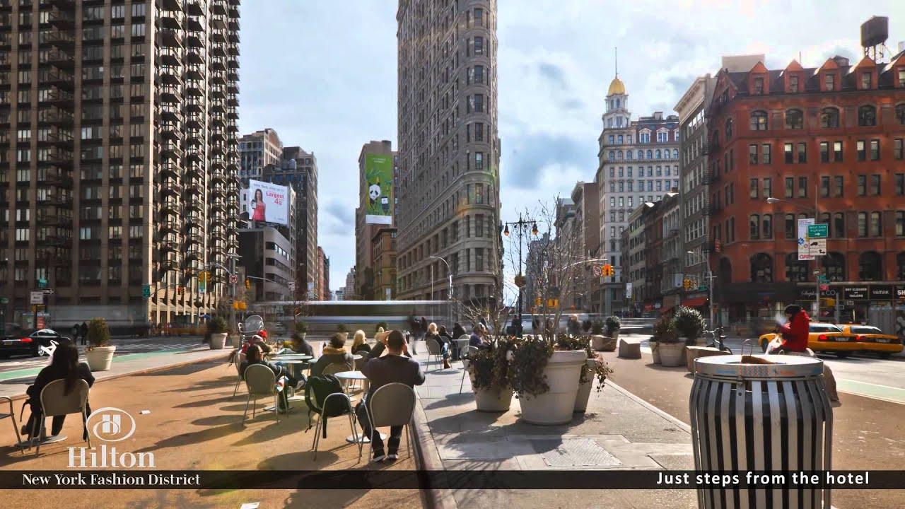 Experience hilton new york fashion district youtube