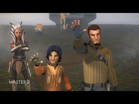 [Kanan, Ezra & Ahsoka enter the Jedi Temple on Lothal] Star Wars Rebels Season 2 Episode 18 [HD]