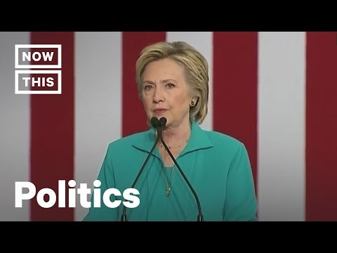 How Hillary Clinton Warned Us About Trump's Border Wall | NowThis