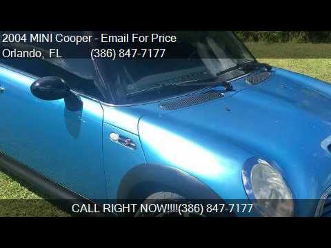 2004 mini cooper base 2dr hatchback for sale in orlando fl youtube. Black Bedroom Furniture Sets. Home Design Ideas