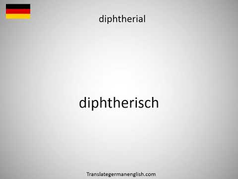 How to say diphtheria toxin receptor DTR in German?