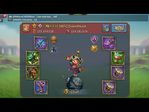 Lords Mobile - T4 Account Giveaway!
