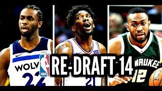2014 NBA Re-Draft: Jabari Parker * Joel Embiid * Andrew Wiggins