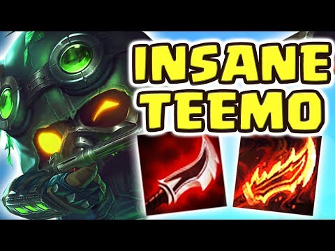 THIS WILL 100% BE NERFED!! NEW DUSKBLADE TEEMO JUNGLE | MY TOP LANER ACTUALLY RAGE QUIT!! Nightblue3