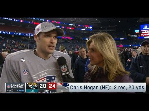 Chris Hogan On Heading To Super Bowl VII   Patriots Vs Jaguars AFC Championship   Jan 21, 2018