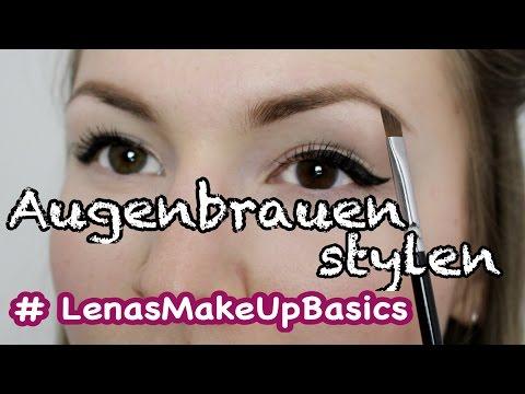 Augenbrauen richtig stylen - Tutorial #LenasMakeUpBasics | Lena's Lifestyle thumbnail