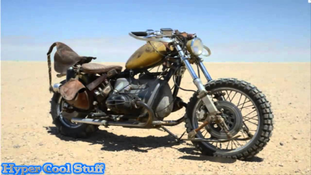 """Mad Max Motorcycle >> The Maddest Motorcycles Made for """"Mad Max Fury Road"""" - YouTube"""