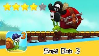 Snail Bob 3 36-40 Walkthrough Time Mode Recommend index four stars