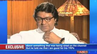 Raj Thackeray on Frankly Speaking with Arnab Goswami (Part 9 of 14)